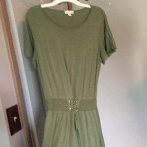 Charming Charlie's short-sleeved flowy dress